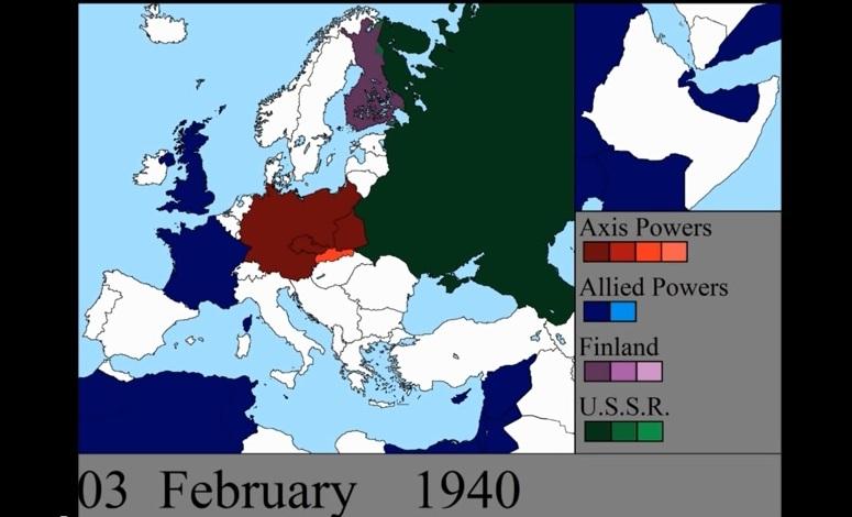 II woja światowa dzień po dniu