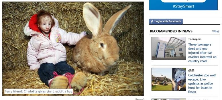 Charlotte Garside - najmniejsza dziewczyna na świecie