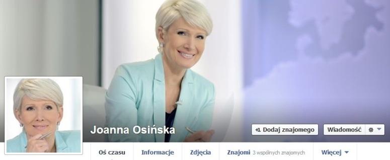 Joanna Osińska nazwała amerykańską piosenkarkę: Żenis Żoplę