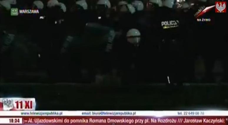 Emocjonalna relacja TV Republika z Marszu Niepodległości