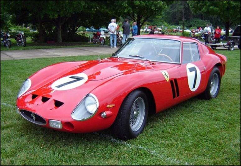 Ferrari 250 GTO - najdroższy samochód świata