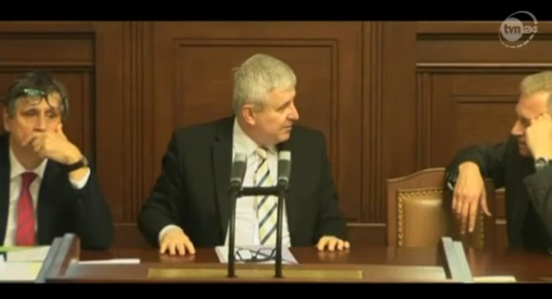Premier Czech Rusnok nie chciał lecieć do RPA