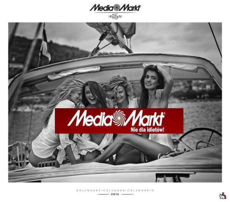 Kalendarz Media Markt 2014