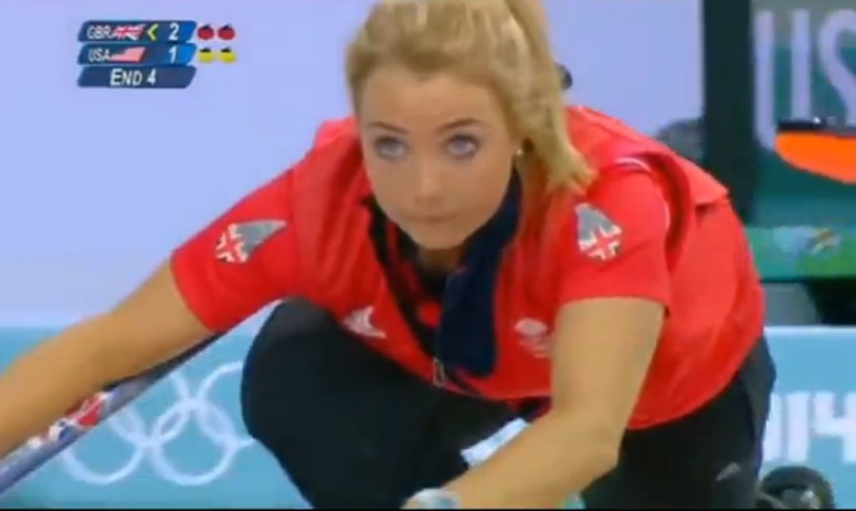 Curling wg Davida Attenborough