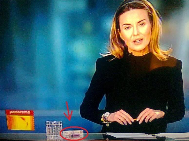 Hanna Lis nie schowała papierosów