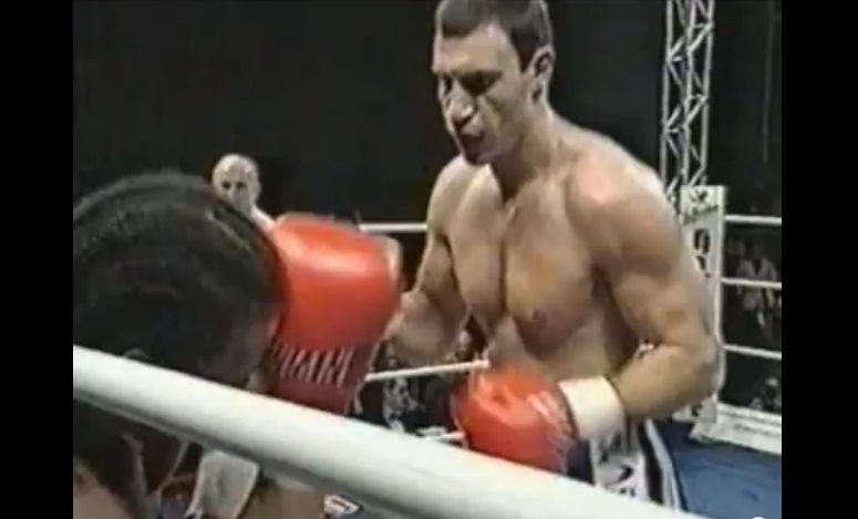 Walka Kliczko-Monaco 1998 r.
