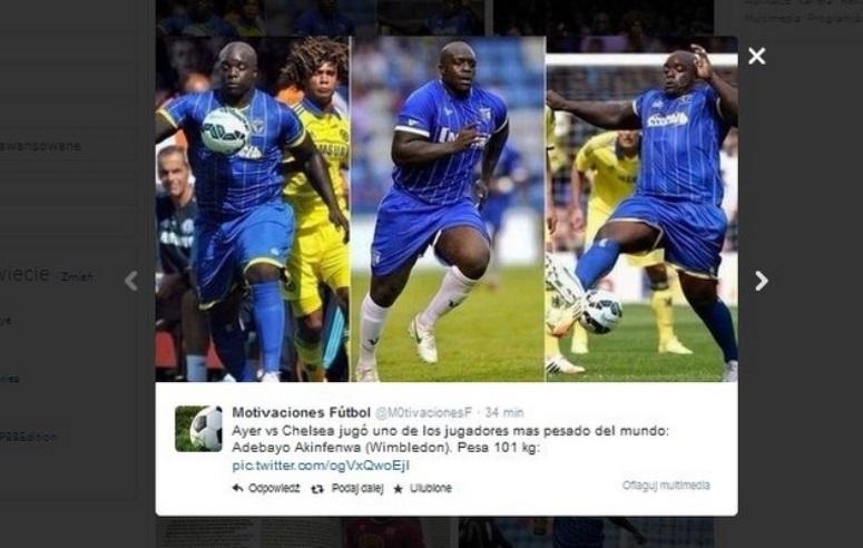 Adebayo Akinfenwa - napotężniejszy piłkarz świata