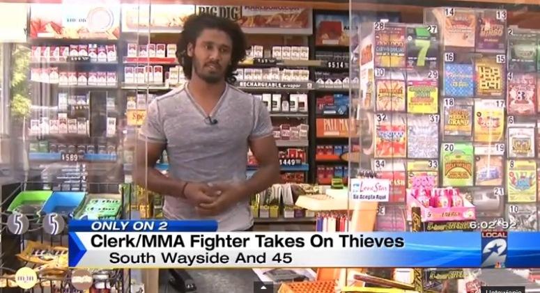 Mayura Dissanyake spuścił łomot złodziejom