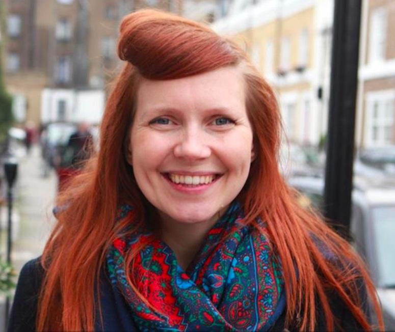 Lucy Aitken Read - od dwóch lat nie myje włosów szamponem